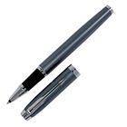 Ручка роллер Parker IM Core Light Blue Grey CT F, корпус серый матовый/ хром, синие чернила (1931662)