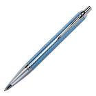 Ручка шариковая Parker IM Premium Blue CT M, корпус синий глянцевый/ хром, синие чернила (1931691)