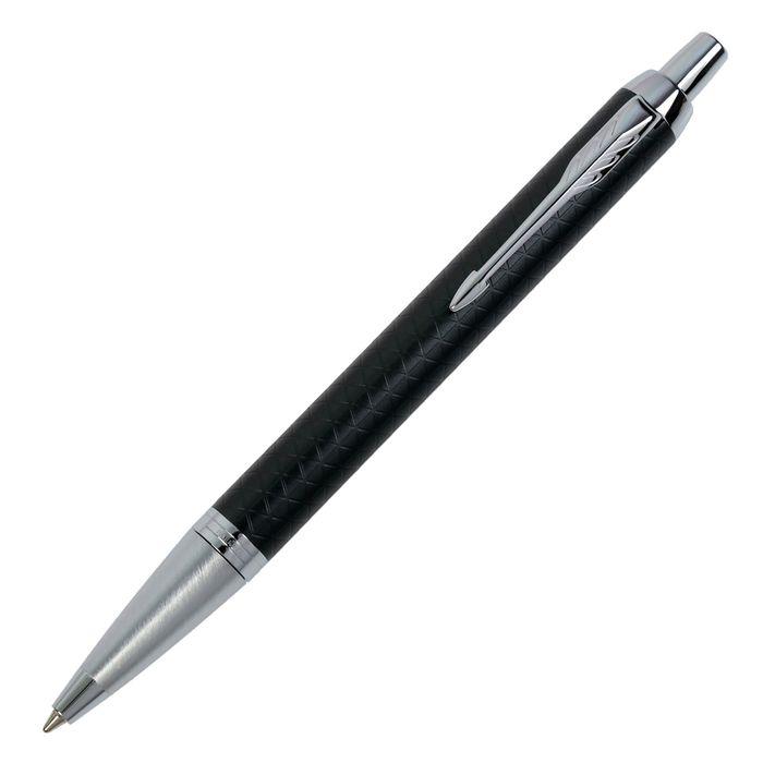 Ручка шариковая Parker IM Premium Green CT M, корпус зеленый глянцевый/ хром, синие чернила (1931643)