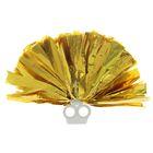 Помпон 50 грамм, цвет золотой