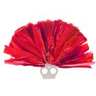 Помпон 50 грамм, цвет красный