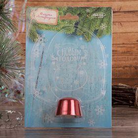 """Подставка световая """"Снеговик"""", 14.5х7.5 см, (батарейки в компл.), 1 LED, RGB микс - фото 1584065"""