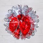 "Balloon foil d-30 cm ""Ovals with slits"" mix"