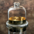 Лимонница d=10 см Black&Gold, высота 10,5 см