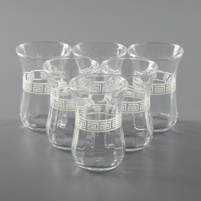 """Набор стаканов для чая 115 мл """"Белое"""", 6 шт"""