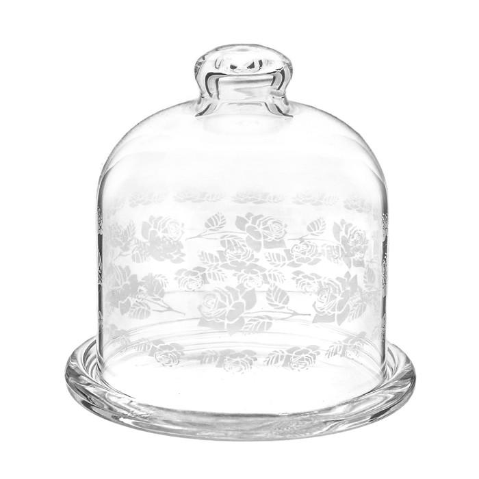 """Лимонница 10 см """"Basic. Белый Букет Роз"""", высота 10,5 см"""