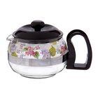 """Чайник заварочный 700 мл с решеткой """"Цветы. Сирень"""""""