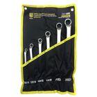 Набор ключей BERGER BG1083, гнуто-накидные, 6 предметов, CrV