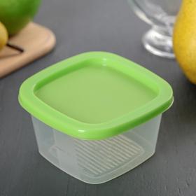 Контейнер пищевой 230 мл BioFresh квадратный, цвет МИКС