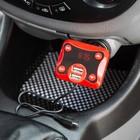 FM - трансмиттер, 12 В, 2 USB/Mp3/WMA/AUX/MicroSD, провод AUX, красный