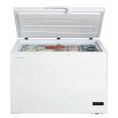 Морозильный ларь Kraft BD(W)-275BLG с LCD дисплеем
