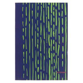 """Колледж-Тетрадь А5, 96 листов """"Яркие штрихи. Салатовый"""", интегральная обложка, без линовки, матовая ламинация, блок 70 г/м2"""