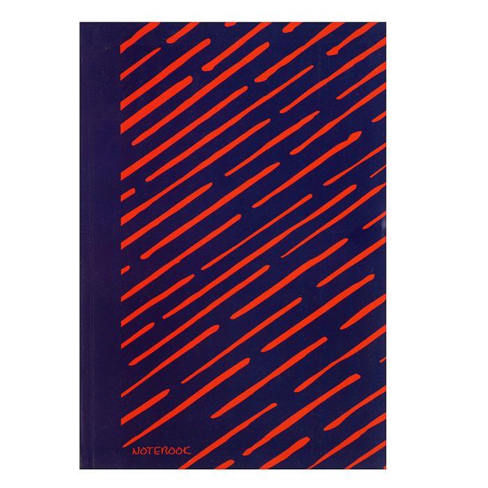 """Колледж-тетрадь, интегральная обложка А5, 96 листов """"Яркие штрихи. Оранжевый"""", без линовки, блок 70 г/м2, матовая ламинация"""