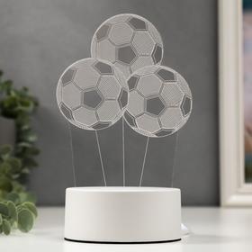 "Светильник ""Три мяча"" от сети 9,5x11,5x20 см"
