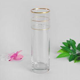 """Ваза для цветов """"Кристалл"""" цилиндр, 26,5 см"""