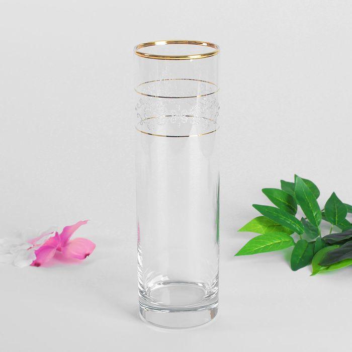 """Ваза для цветов """"Кружева"""" цилиндр, 26,5 см"""