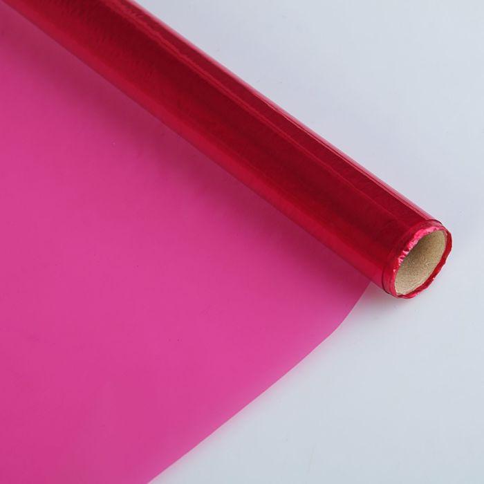Бумага целлофановая 700*5000 мм Sadipal 30 г/м2 кристал Розовый 06936