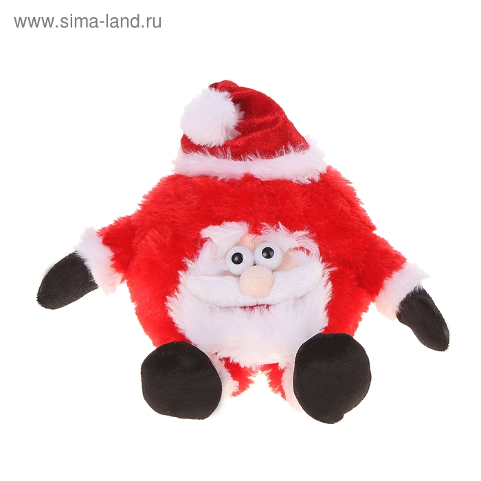 "Мягкая игрушка интерактивная ""Дед Мороз"" хохотун"