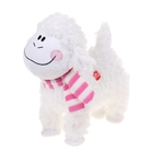 "Interactive soft toy ""Sheep"" scarf, striped, dancing"