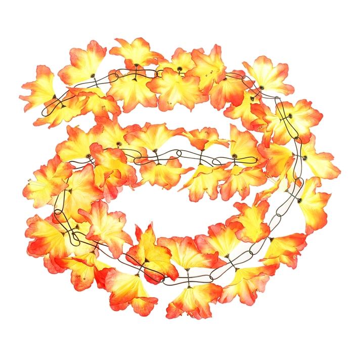 Гавайская гирлянда ''Лилия'' желто-красная 333899