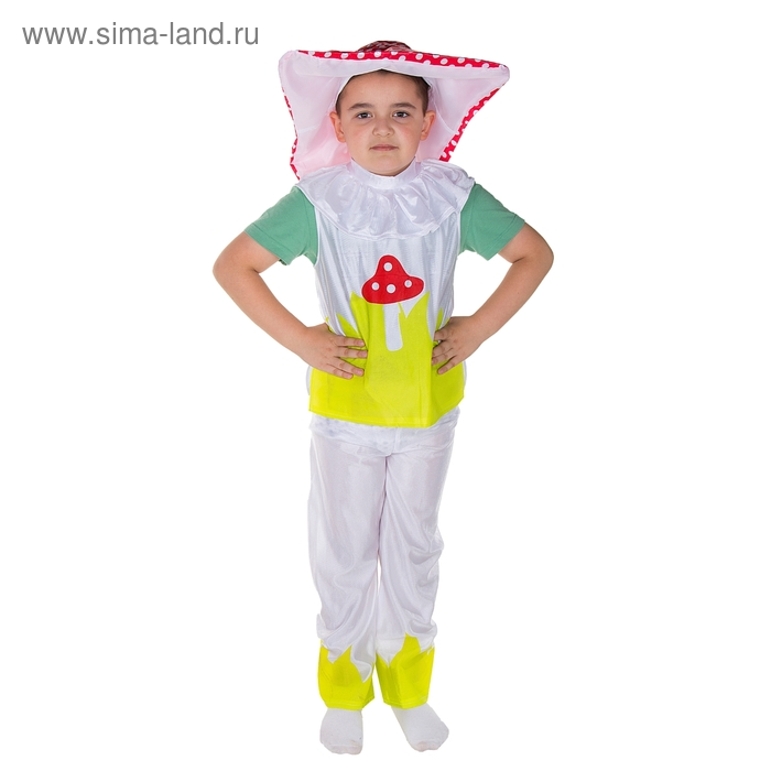 """Карнавальный костюм """"Мухомор"""", р-р M, рост 120-130 см, 7-9 лет"""