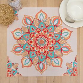 """The napkin on the table """"Mandala"""" 30*30 cm, 100% p/e, Oxford 420 g/m2"""