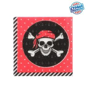 Wipes 'Pirate' 25*25cm (set of 20 PCs)