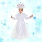 """Карнавальный костюм """"Снегурочка"""", платье, корона, накидка, р-р L ,130-140 см, 10-12 лет"""