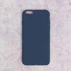 Чехол для iPhone 6 Plus, материал TPU, темно-синий
