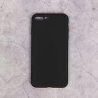 Чехол для iPhone 7 Plus, материал TPU, чёрный