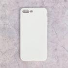 Чехол для iPhone 7 Plus, материал TPU, белый