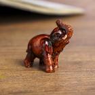 "Souvenir Polyresin ""Elephant baby"" mahogany 3,5х4х1,8 cm"
