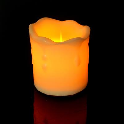 """Свеча светодиодная """"Нежность"""", горит жёлтым"""