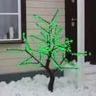 "Дерево светодиодное улич. 1,5 м. ""Сакура"" 540Led, 32W, 220V Зеленый"