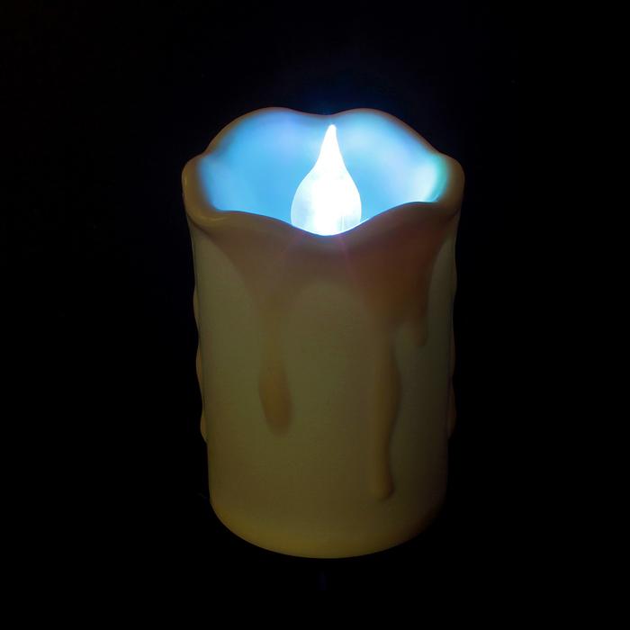"""Свеча светодиодная """"Изобилие"""", с пультом, набор 3 шт."""