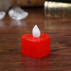 "Led candle ""Heart"", red"