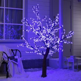 """Дерево светодиодное улич. 1,8 м. """"Сакура"""" 768Led, 46W, 220V Мульти(RGB)"""