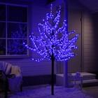 """Дерево светодиодное улич. 2 м. """"Клён"""" 900Led, 54W, 220V Синий"""