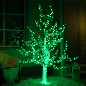 """Дерево светодиодное улич. 1,8 м. """"Акриловое"""" 768Led, 46W, 220V, зеленый"""