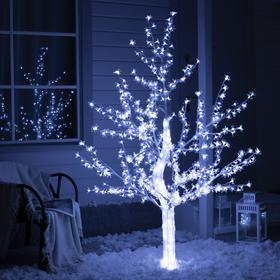 """Дерево светодиодное улич. 1,8 м. """"Акриловое"""" 768Led, 46W, 220V, белый"""