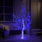 "Дерево светодиодное улич. 1,8 м. ""Акриловое"" 768Led, 46W, 220V Синий"