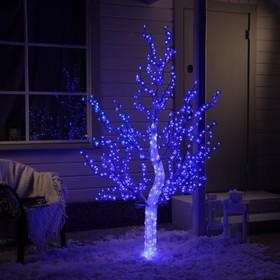 "Дерево светодиодное улич. 1,8 м. ""Акриловое"" 768Led, 46W, 220V, синий"