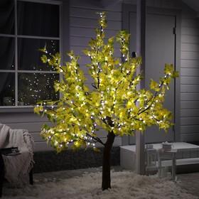 """Дерево светодиодное улич. 1,8 м. """"Клён Осенний"""" 384 Led, 23 W, 220V Желтый"""