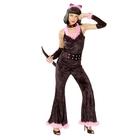 "Карнав. костюм для взрослых ""Женщина кошка"", 4 пред:, комб, ободок, колье, хвост р-р 44-48"