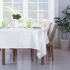 """Набор столовый """"Этель"""" Печворк цв.Белый(скат140*220,салф 40*40-8шт), 100% хл, жаккард"""