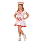"""Карнавальный костюм """"Медсестричка"""", платье, пояс, подъюбник, ободок, р-р M, рост 120-130 см"""