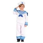 """Карнавальный костюм """"Матрос"""", 3 предмета: рубашка, брюки, шляпа, рост 92-104 см"""