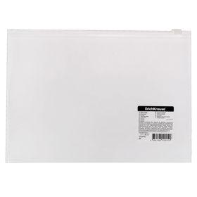Папка-конверт на гибкой молнии Zip B5 FIzzy Zip Pocket, EK 44418 Ош