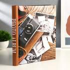 "Фотоальбом магнитный на 20 листов ""Винтажный фотоаппарат"" 29х24,5х2,5 см"