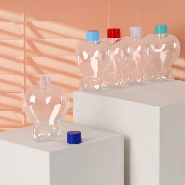 "Бутылочка для хранения ""Сердце"", 150мл, цвет МИКС"